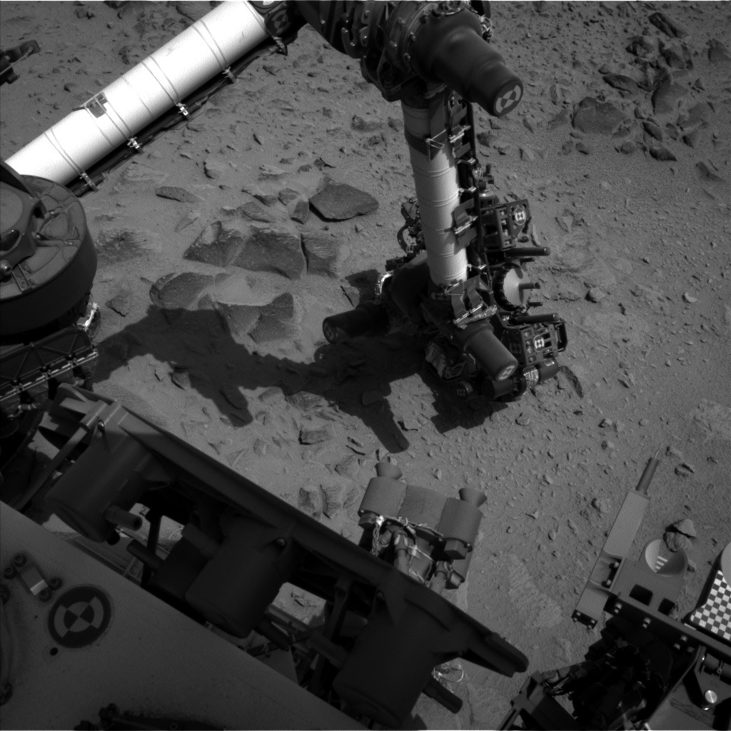 NASA's Mars rover Curiosity acquired this image using its Left Navigation Camera (Navcams) on Sol 360