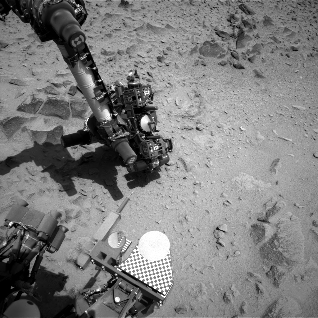 NASA's Mars rover Curiosity acquired this image using its Right Navigation Cameras (Navcams) on Sol 360