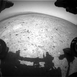 NASA's Mars rover Curiosity acquired this image using its Front Hazard Avoidance Cameras (Front Hazcams) on Sol 361
