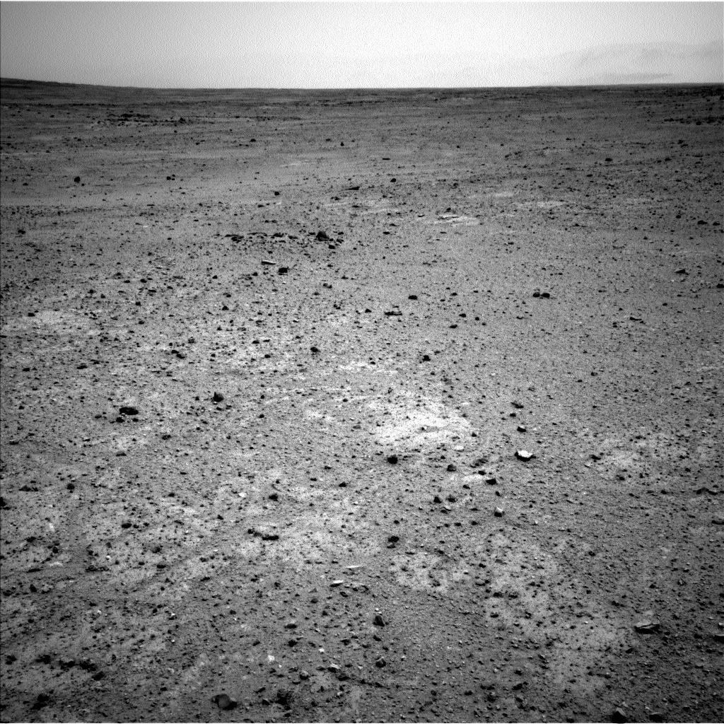 NASA's Mars rover Curiosity acquired this image using its Left Navigation Camera (Navcams) on Sol 361