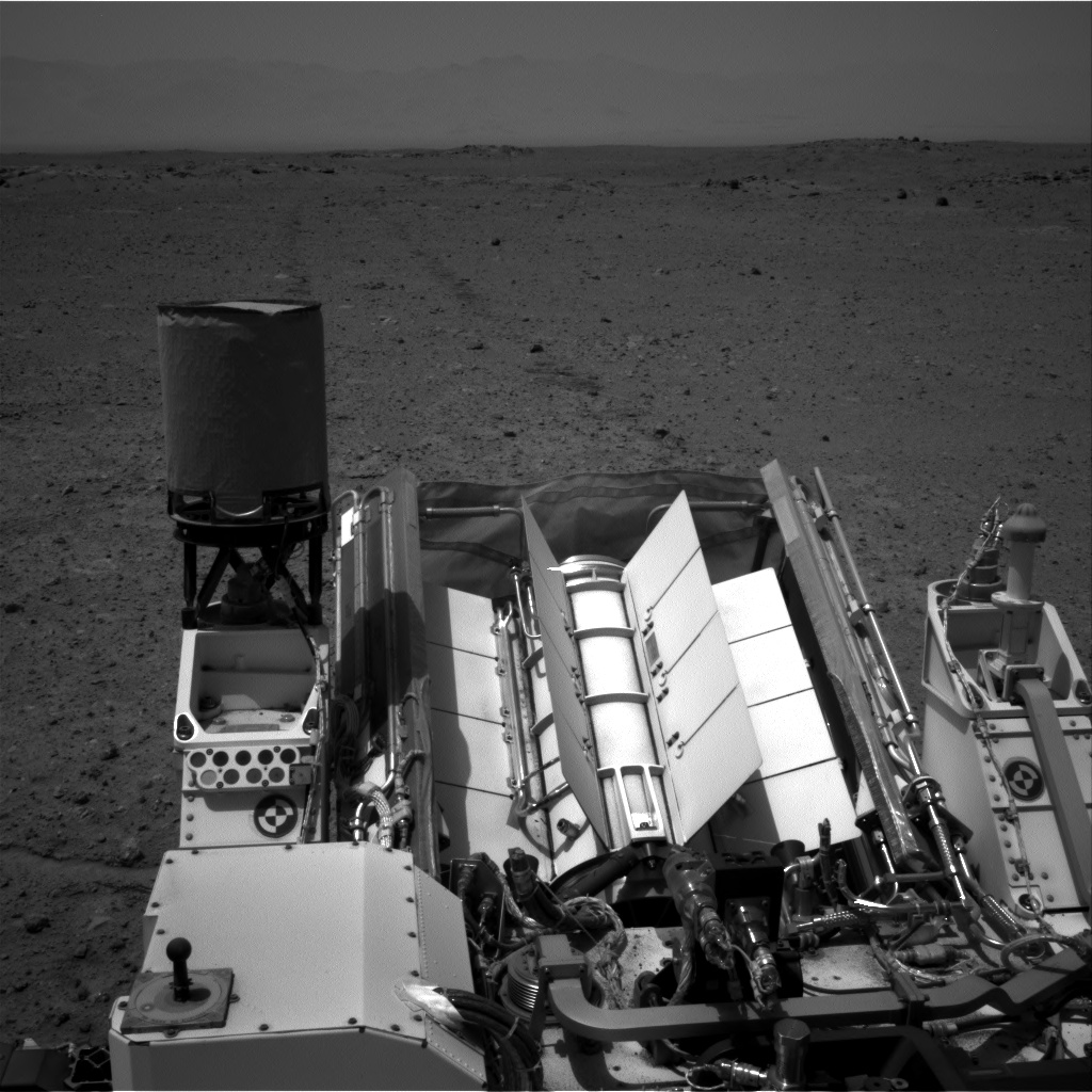 Nasa's Mars rover Curiosity acquired this image using its Right Navigation Camera on Sol 361, at drive 244, site number 12