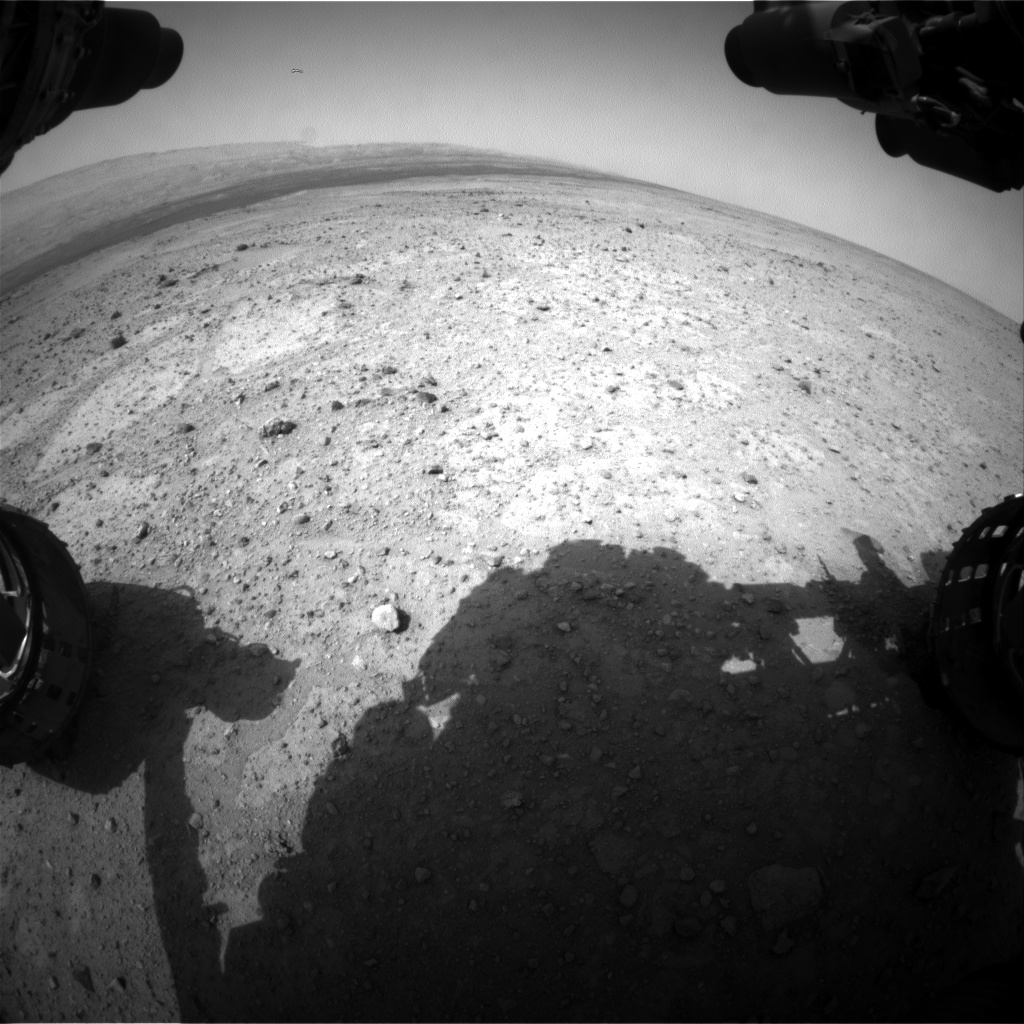 Nasa's Mars rover Curiosity acquired this image using its Front Hazard Avoidance Camera (Front Hazcam) on Sol 362, at drive 244, site number 12