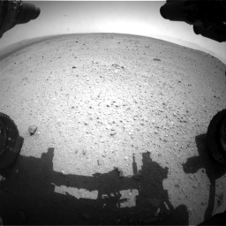 Nasa's Mars rover Curiosity acquired this image using its Front Hazard Avoidance Camera (Front Hazcam) on Sol 363, at drive 550, site number 12