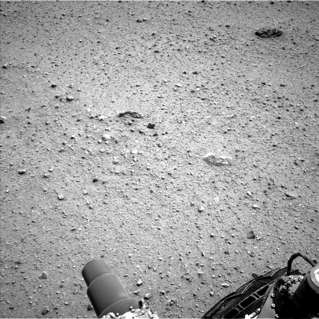 Nasa's Mars rover Curiosity acquired this image using its Left Navigation Camera on Sol 363, at drive 560, site number 12