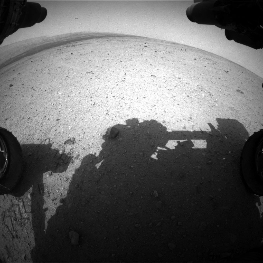 NASA's Mars rover Curiosity acquired this image using its Front Hazard Avoidance Cameras (Front Hazcams) on Sol 364