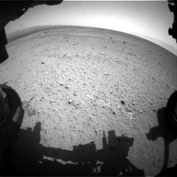Nasa's Mars rover Curiosity acquired this image using its Front Hazard Avoidance Camera (Front Hazcam) on Sol 365, at drive 690, site number 12