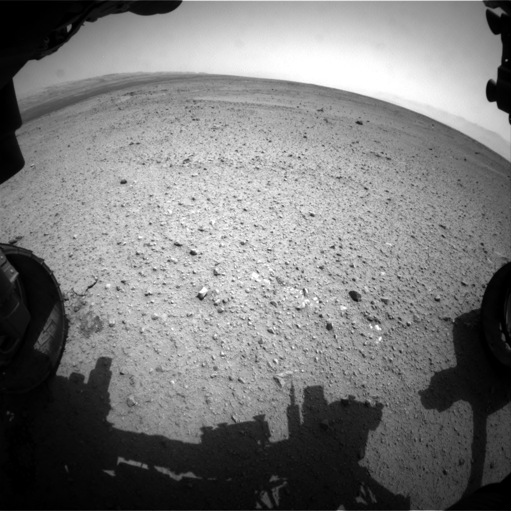 NASA's Mars rover Curiosity acquired this image using its Front Hazard Avoidance Cameras (Front Hazcams) on Sol 365