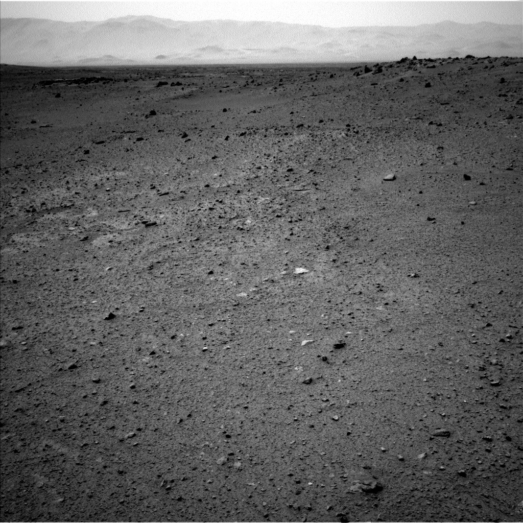 NASA's Mars rover Curiosity acquired this image using its Left Navigation Camera (Navcams) on Sol 365