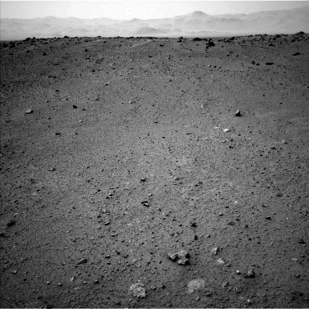 Nasa's Mars rover Curiosity acquired this image using its Left Navigation Camera on Sol 365, at drive 690, site number 12