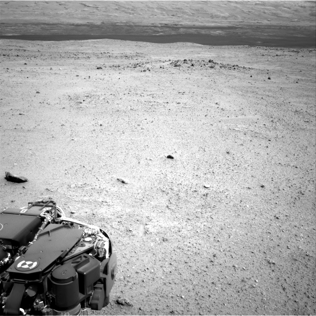 Nasa's Mars rover Curiosity acquired this image using its Right Navigation Camera on Sol 365, at drive 690, site number 12