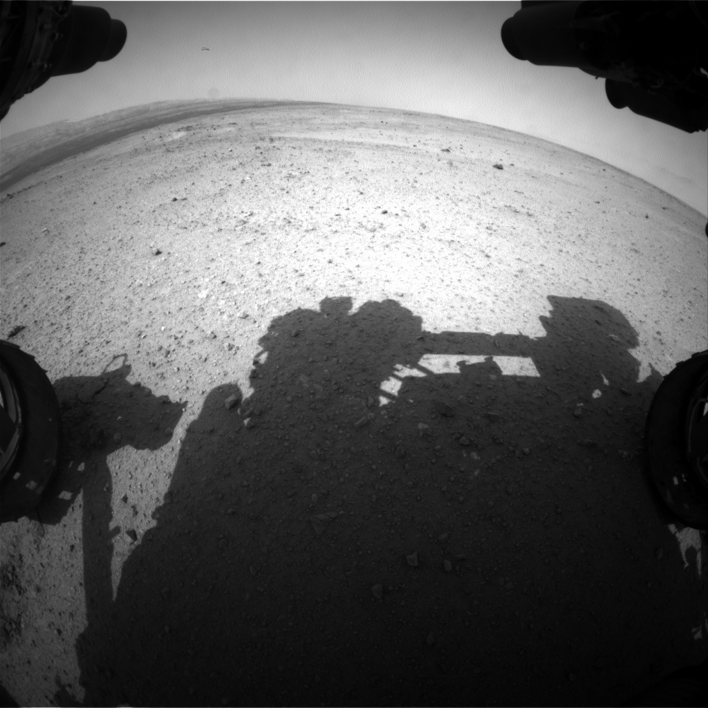 NASA's Mars rover Curiosity acquired this image using its Front Hazard Avoidance Cameras (Front Hazcams) on Sol 367