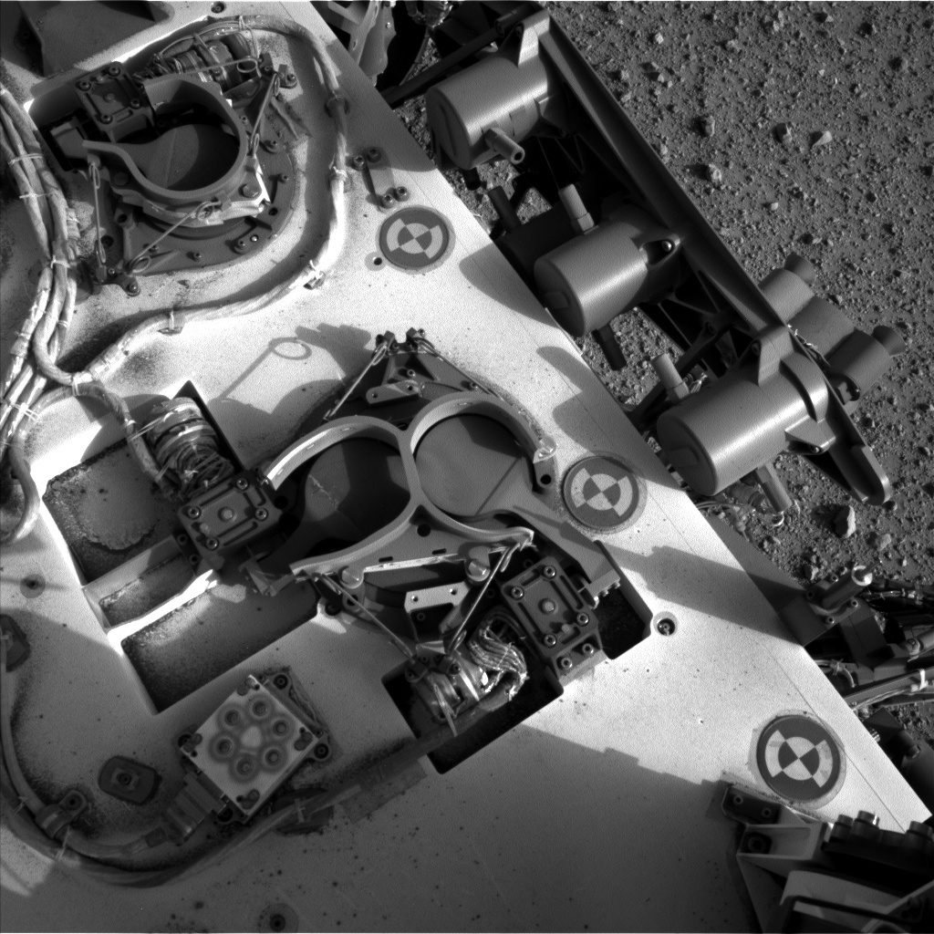 NASA's Mars rover Curiosity acquired this image using its Left Navigation Camera (Navcams) on Sol 367