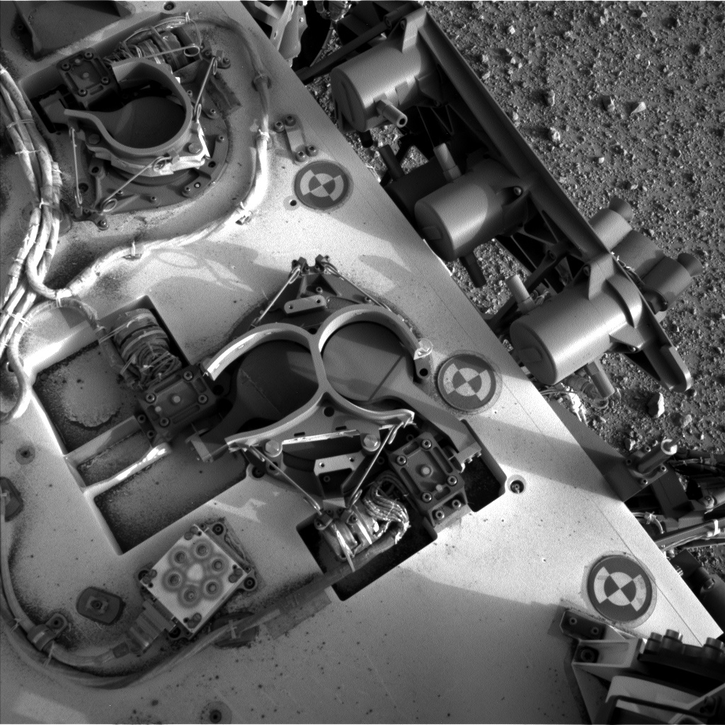 Nasa's Mars rover Curiosity acquired this image using its Left Navigation Camera on Sol 367, at drive 690, site number 12