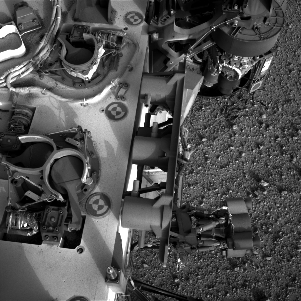 Nasa's Mars rover Curiosity acquired this image using its Right Navigation Camera on Sol 367, at drive 690, site number 12