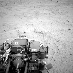 Nasa's Mars rover Curiosity acquired this image using its Left Navigation Camera on Sol 369, at drive 972, site number 12