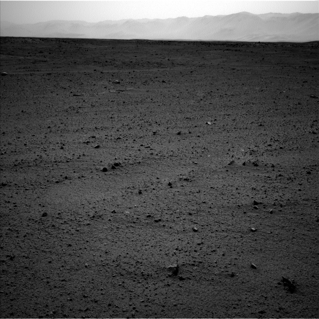 Nasa's Mars rover Curiosity acquired this image using its Left Navigation Camera on Sol 369, at drive 0, site number 13