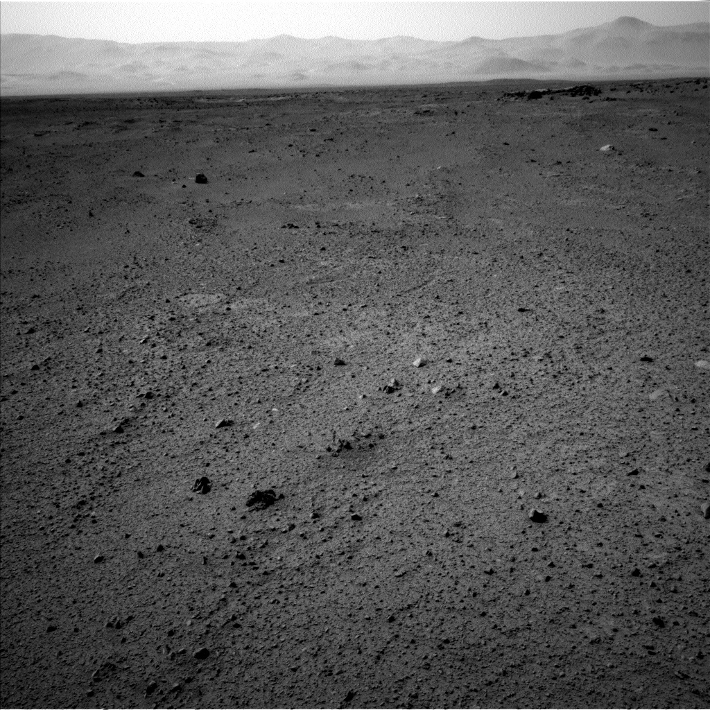 NASA's Mars rover Curiosity acquired this image using its Left Navigation Camera (Navcams) on Sol 369