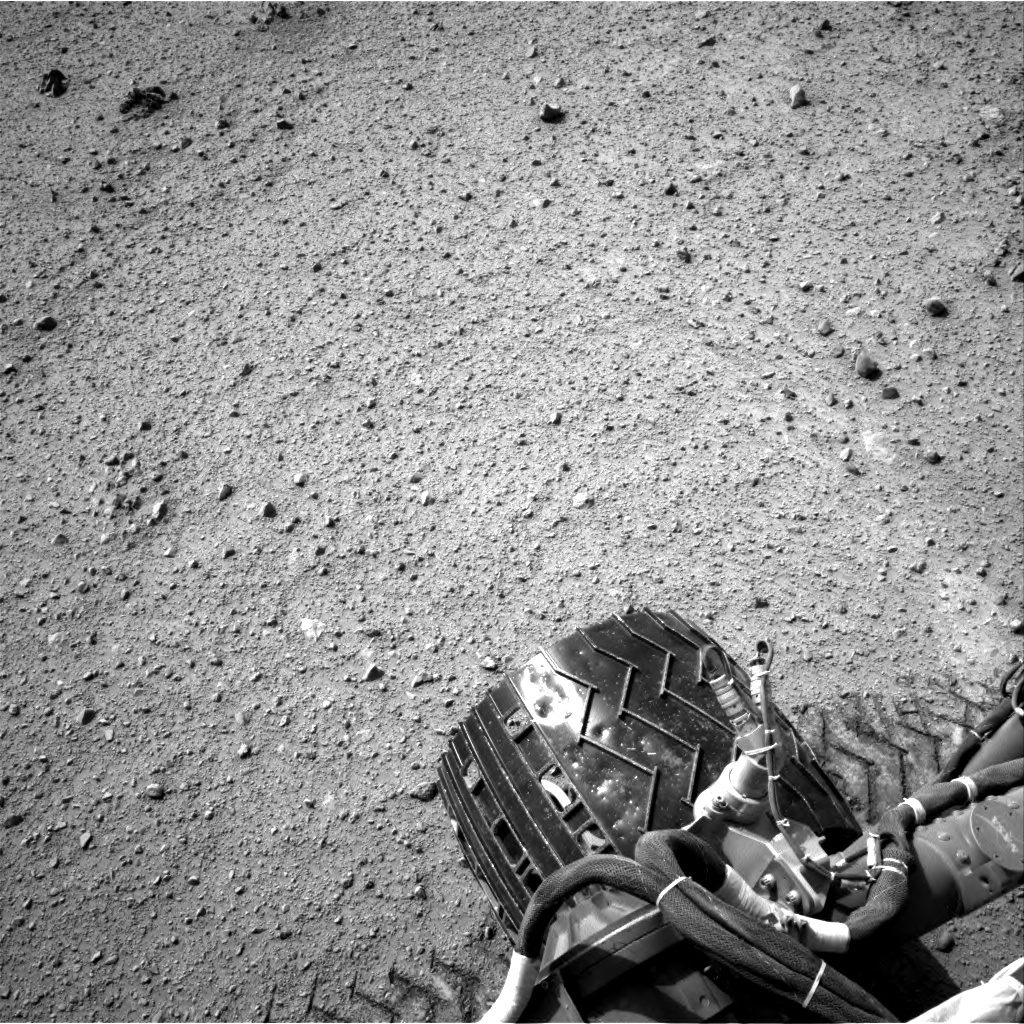 NASA's Mars rover Curiosity acquired this image using its Right Navigation Cameras (Navcams) on Sol 369