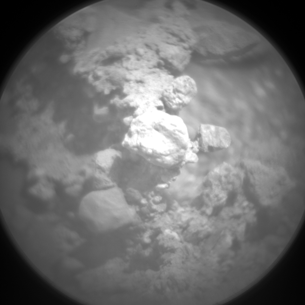 NASA's Mars rover Curiosity acquired this image using its Chemistry & Camera (ChemCam) on Sol 370