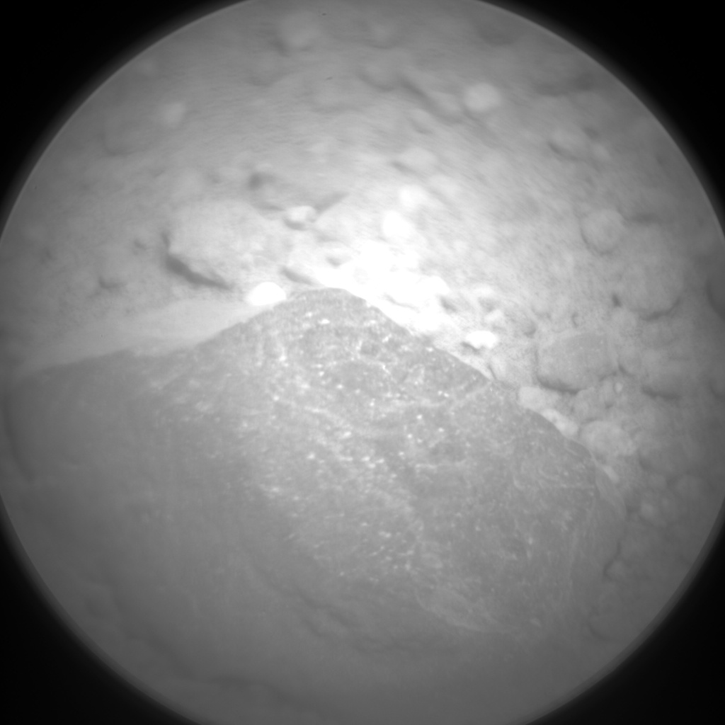 Nasa's Mars rover Curiosity acquired this image using its Chemistry & Camera (ChemCam) on Sol 370, at drive 0, site number 13