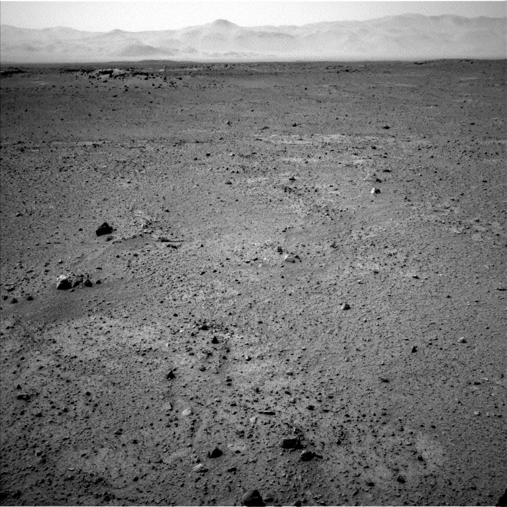 Nasa's Mars rover Curiosity acquired this image using its Left Navigation Camera on Sol 370, at drive 292, site number 13