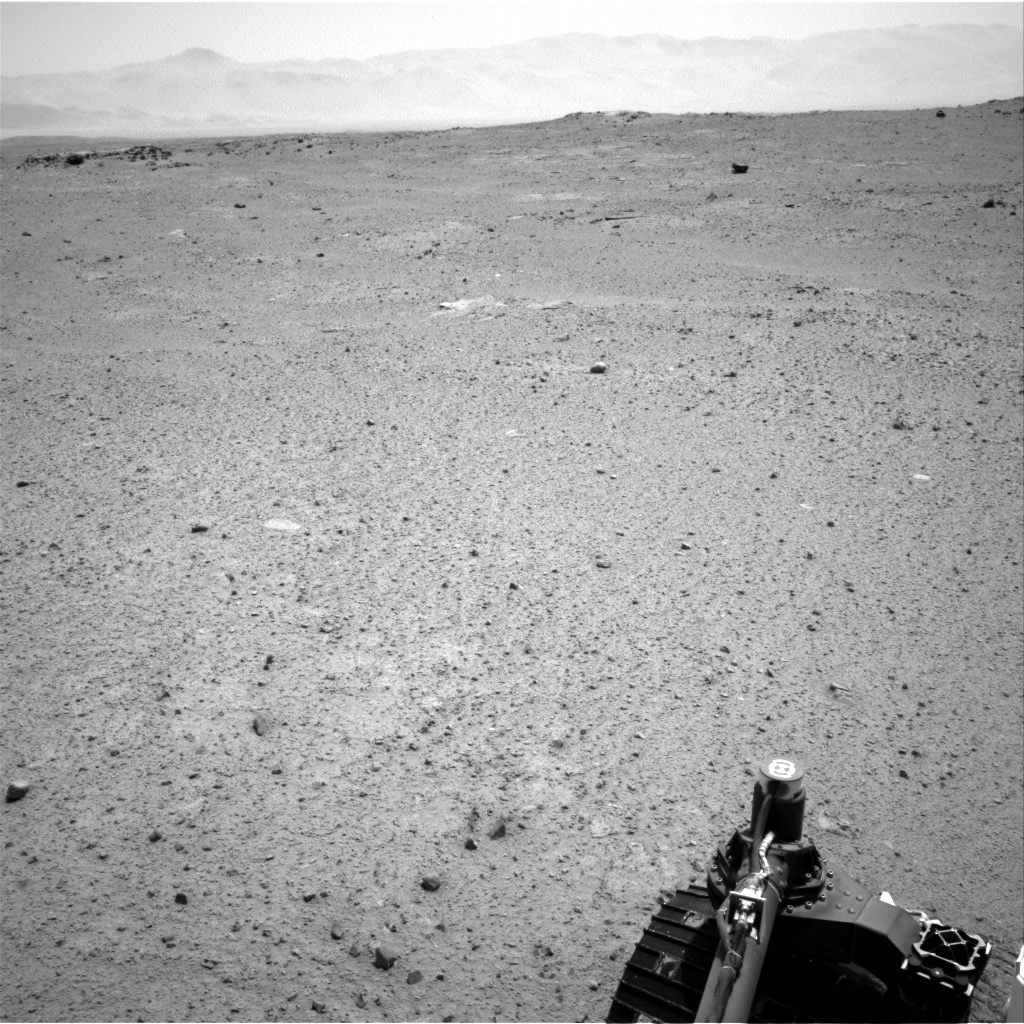 NASA's Mars rover Curiosity acquired this image using its Right Navigation Cameras (Navcams) on Sol 370