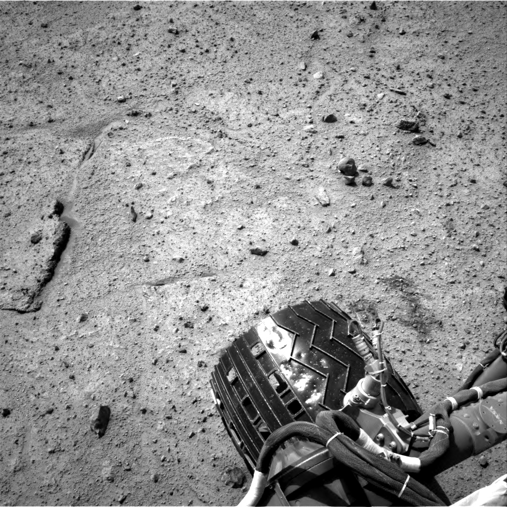 Nasa's Mars rover Curiosity acquired this image using its Right Navigation Camera on Sol 370, at drive 292, site number 13