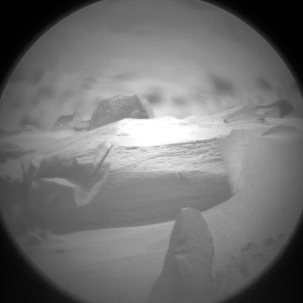NASA's Mars rover Curiosity acquired this image using its Chemistry & Camera (ChemCam) on Sol 371