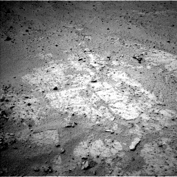 Nasa's Mars rover Curiosity acquired this image using its Left Navigation Camera on Sol 371, at drive 838, site number 13