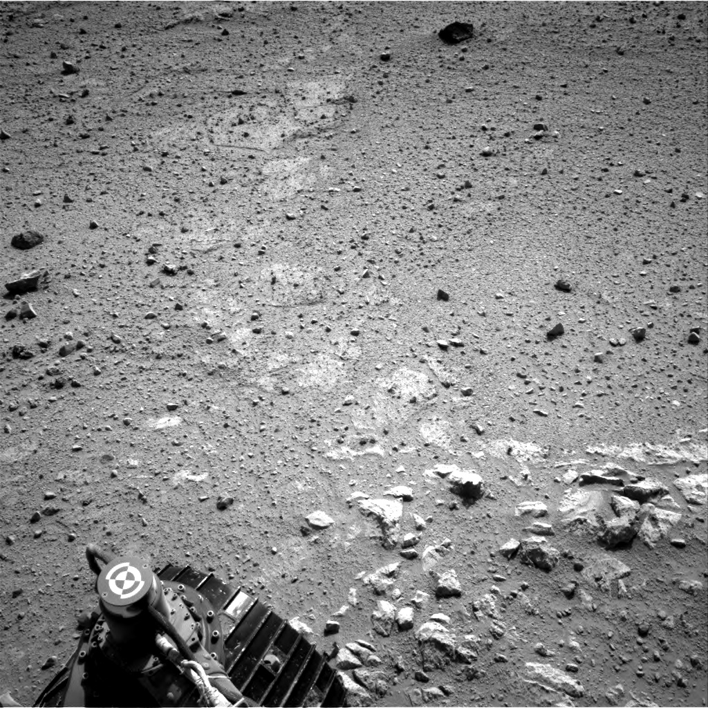 Nasa's Mars rover Curiosity acquired this image using its Right Navigation Camera on Sol 371, at drive 974, site number 13