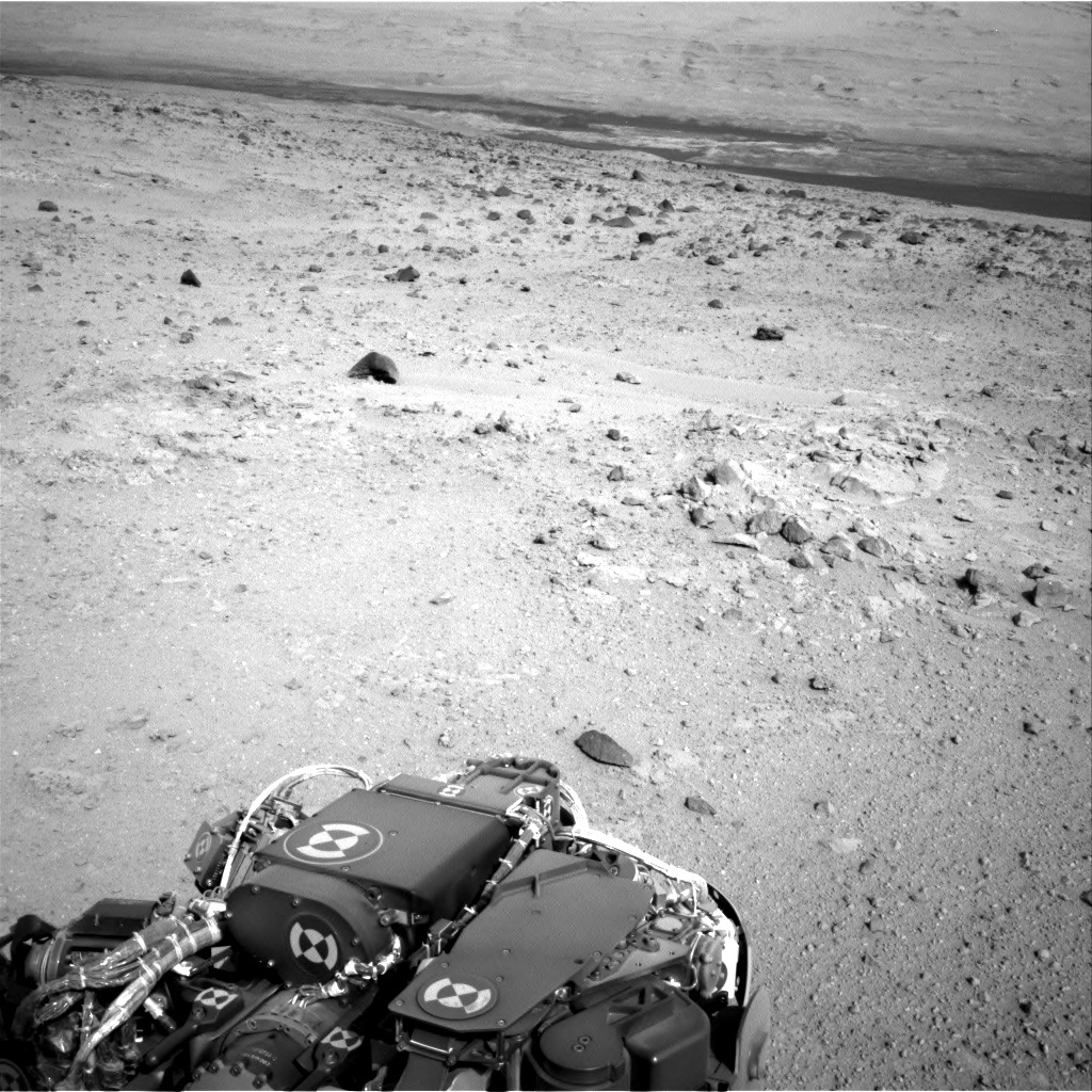 NASA's Mars rover Curiosity acquired this image using its Right Navigation Cameras (Navcams) on Sol 371