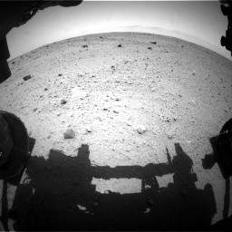 Nasa's Mars rover Curiosity acquired this image using its Front Hazard Avoidance Camera (Front Hazcam) on Sol 372, at drive 1124, site number 13