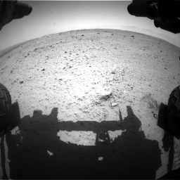 Nasa's Mars rover Curiosity acquired this image using its Front Hazard Avoidance Camera (Front Hazcam) on Sol 372, at drive 1082, site number 13