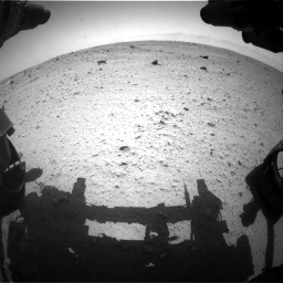 Nasa's Mars rover Curiosity acquired this image using its Front Hazard Avoidance Camera (Front Hazcam) on Sol 372, at drive 1142, site number 13