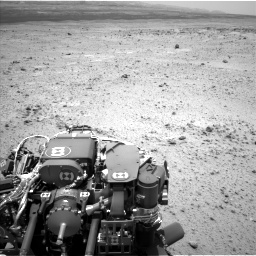 Nasa's Mars rover Curiosity acquired this image using its Left Navigation Camera on Sol 372, at drive 1082, site number 13