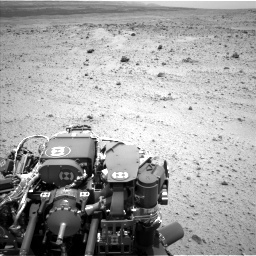 NASA's Mars rover Curiosity acquired this image using its Left Navigation Camera (Navcams) on Sol 372