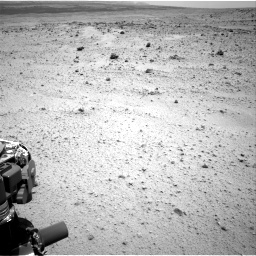 Nasa's Mars rover Curiosity acquired this image using its Right Navigation Camera on Sol 372, at drive 1142, site number 13