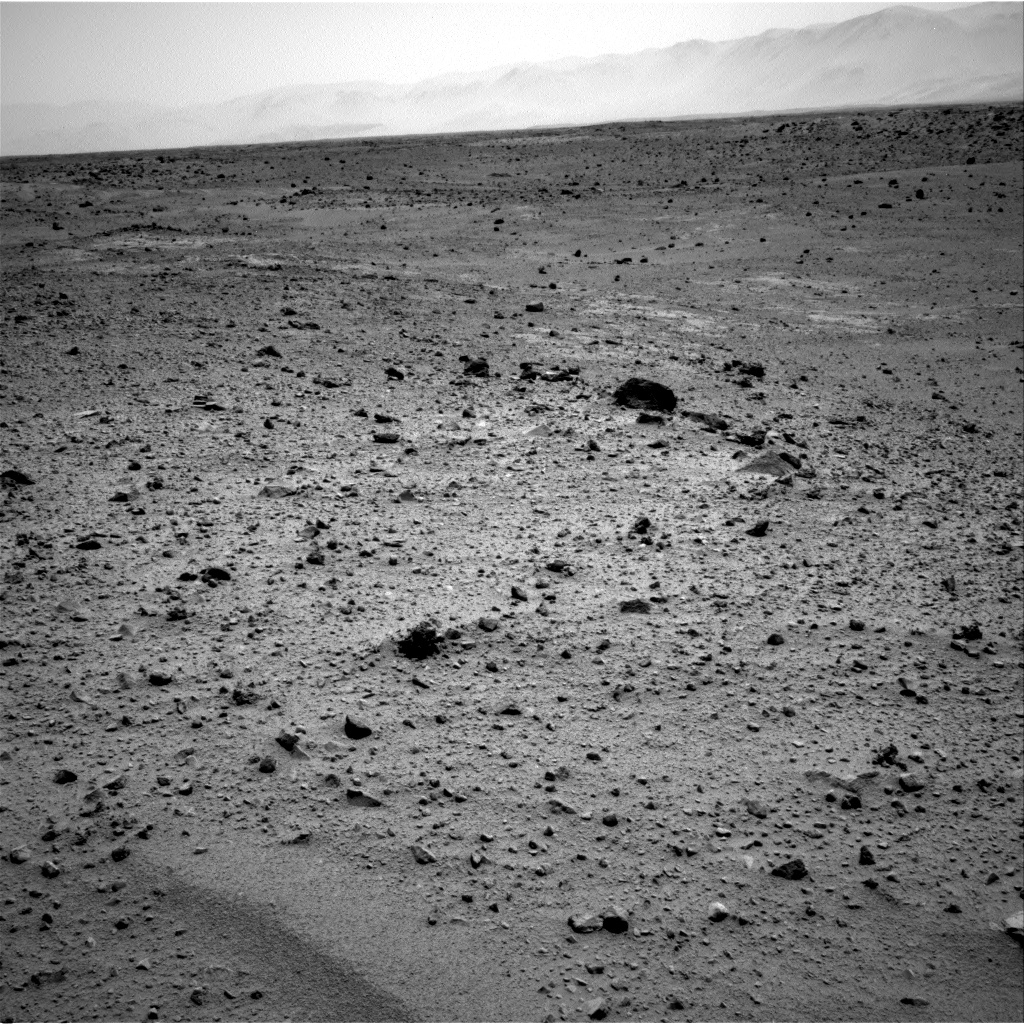 Nasa's Mars rover Curiosity acquired this image using its Right Navigation Camera on Sol 372, at drive 0, site number 14