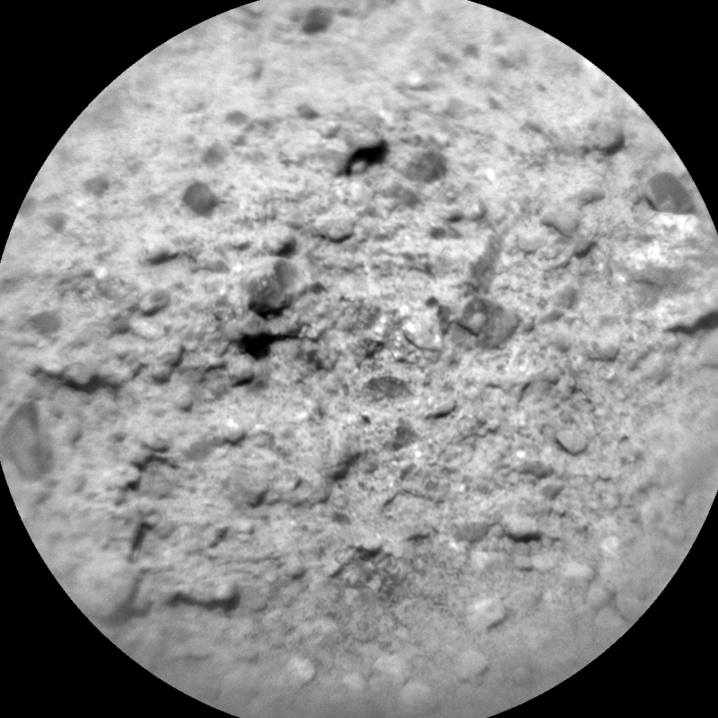 Nasa's Mars rover Curiosity acquired this image using its Chemistry & Camera (ChemCam) on Sol 372, at drive 974, site number 13