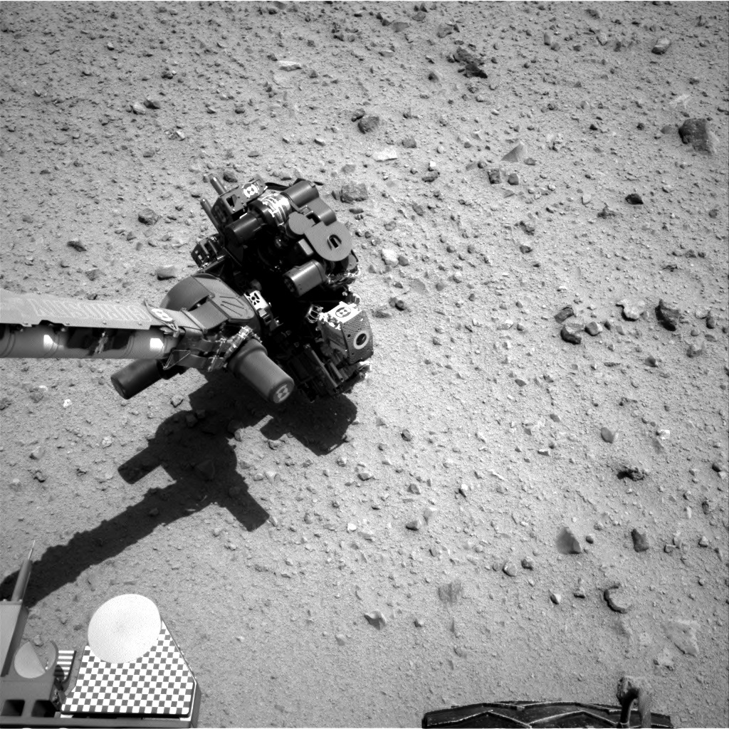 NASA's Mars rover Curiosity acquired this image using its Right Navigation Cameras (Navcams) on Sol 373