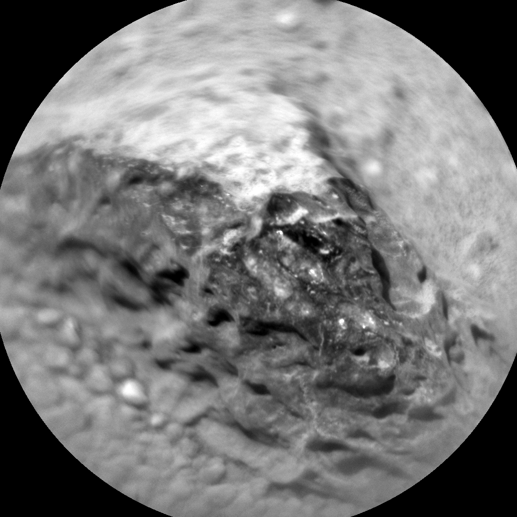Nasa's Mars rover Curiosity acquired this image using its Chemistry & Camera (ChemCam) on Sol 373, at drive 0, site number 14