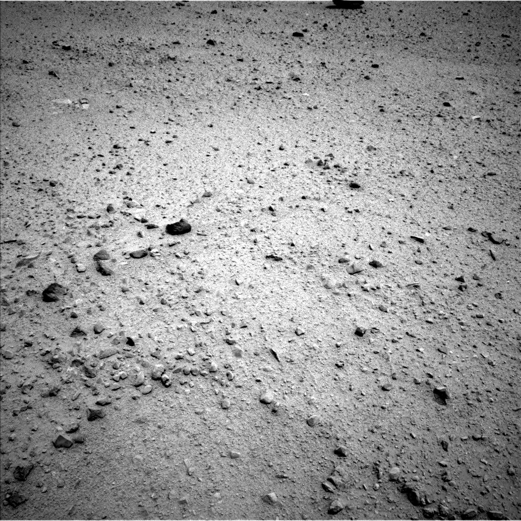 Nasa's Mars rover Curiosity acquired this image using its Left Navigation Camera on Sol 374, at drive 132, site number 14