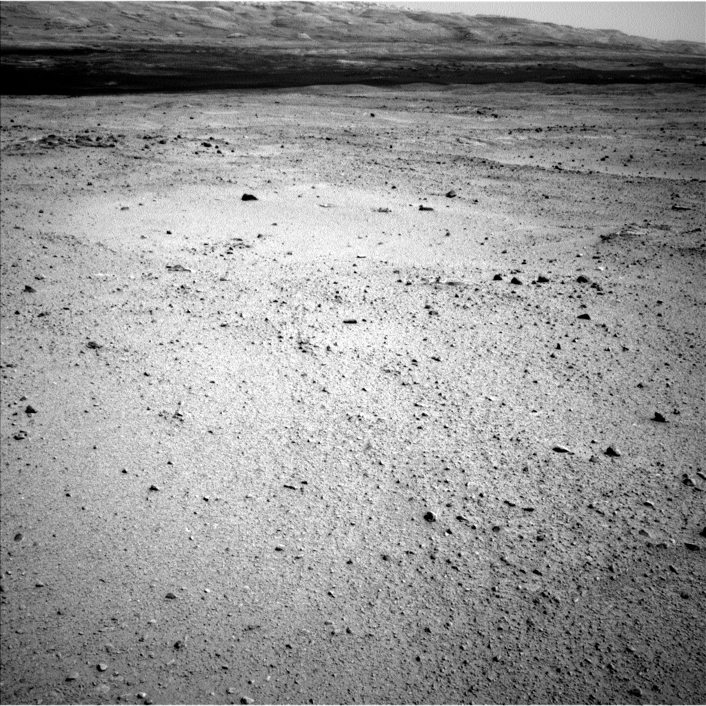 NASA's Mars rover Curiosity acquired this image using its Left Navigation Camera (Navcams) on Sol 374