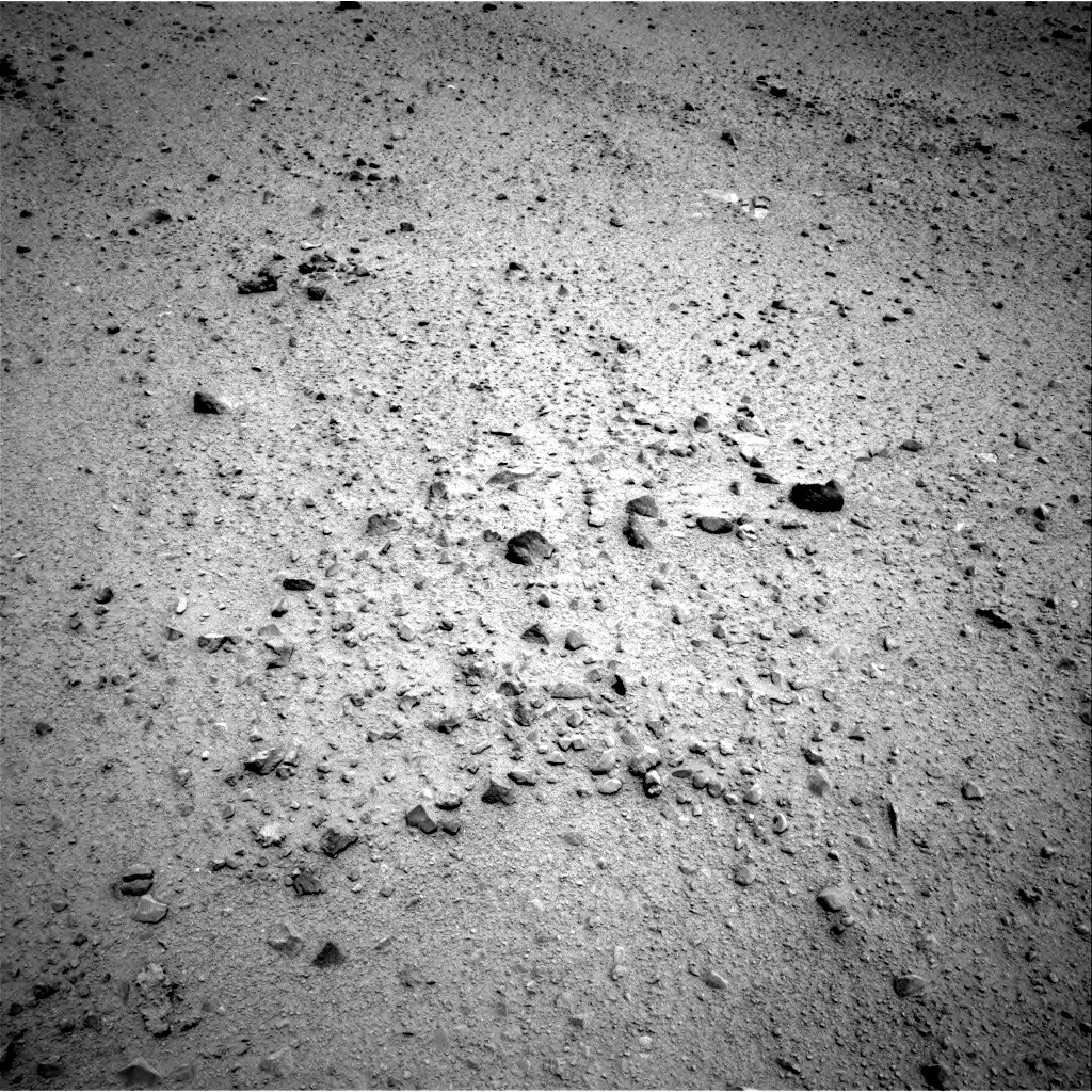 NASA's Mars rover Curiosity acquired this image using its Right Navigation Cameras (Navcams) on Sol 374
