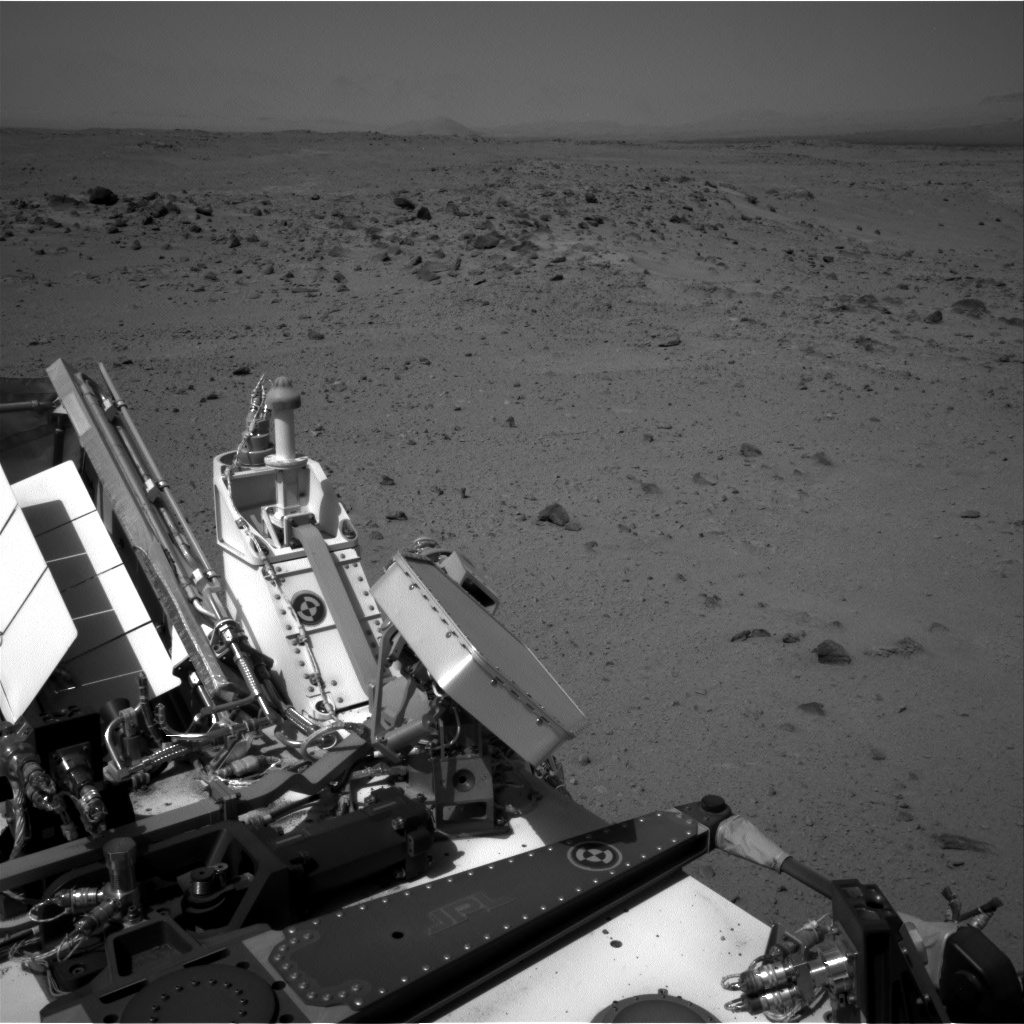 Nasa's Mars rover Curiosity acquired this image using its Right Navigation Camera on Sol 374, at drive 156, site number 14