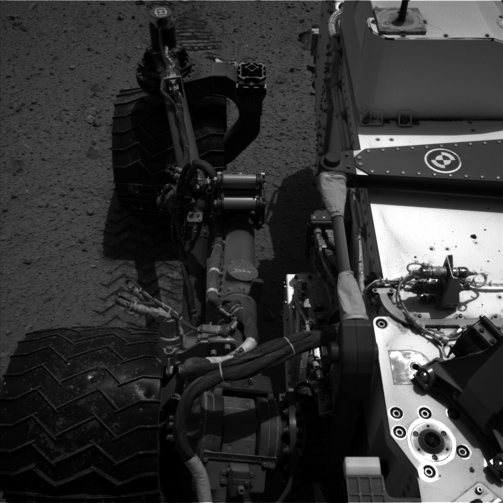 Nasa's Mars rover Curiosity acquired this image using its Left Navigation Camera on Sol 375, at drive 156, site number 14