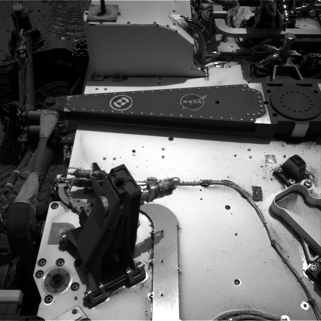 Nasa's Mars rover Curiosity acquired this image using its Right Navigation Camera on Sol 375, at drive 156, site number 14