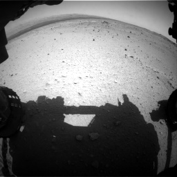 Nasa's Mars rover Curiosity acquired this image using its Front Hazard Avoidance Camera (Front Hazcam) on Sol 376, at drive 324, site number 14
