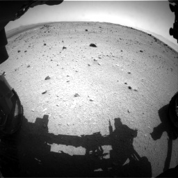 Nasa's Mars rover Curiosity acquired this image using its Front Hazard Avoidance Camera (Front Hazcam) on Sol 376, at drive 378, site number 14