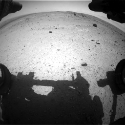 Nasa's Mars rover Curiosity acquired this image using its Front Hazard Avoidance Camera (Front Hazcam) on Sol 376, at drive 288, site number 14